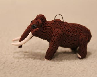 Woolly Mammoth, mammoth, Christmas ornament, ornament, mammoth ornament,