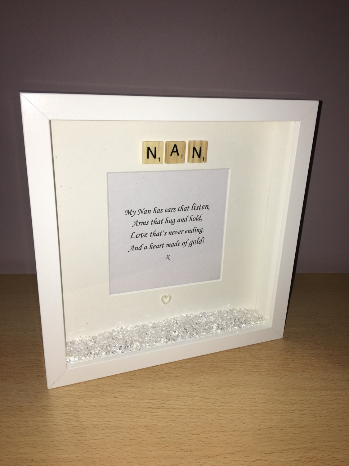 Nan Photo Frame Quote Gift For Christmas Birthday Mothers Day