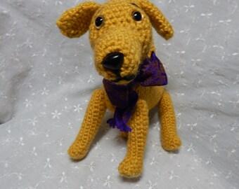 Labrador Pattern, Dog Amigurumi Pattern, Crocheted Puppy Pattern, Yellow Lab Pattern, Beginner Crochet Pattern, Easy Crochet Pattern