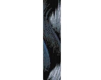 BPGR0001 Even Count Single Drop Peyote Cuff/Bracelet Pattern