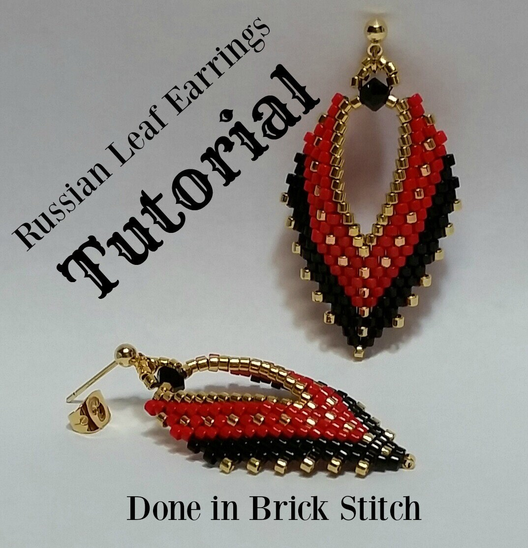 craftaholique with earrings to starting star stitch make how jewellery step ladder making brick