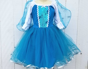Elsa dress, princess dress, Frozen dress, winter Elsa dress, vacation princess dresses, comfortable princess dresses, Holiday dress