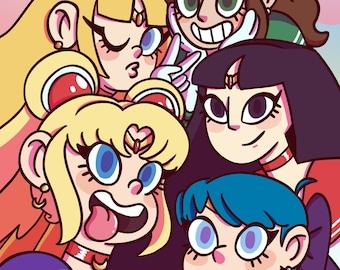 Sailor Selfie 8x10 Print