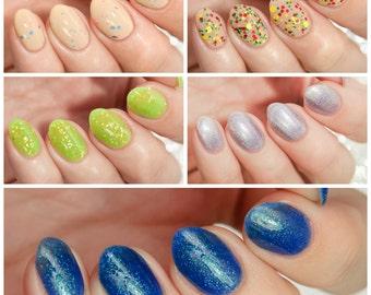 MINI Summer Destinations Collection - custom summer scented nail polish Hawaii Jamaica Fiji Bermuda Capri