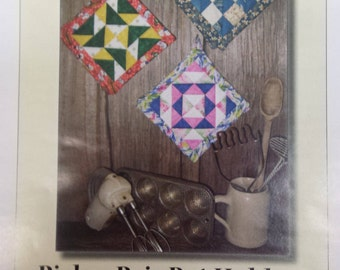 Pick a Pair Pot Holders by Scrap Therapy