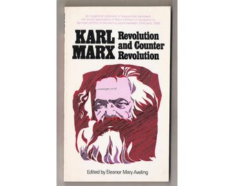 """Vintage soft-cover/paperback, """"Revolution and Counter Revolution"""", by Karl Marx, introduced by Eleanor Mary Aveling, Capricorn Books, 1971."""