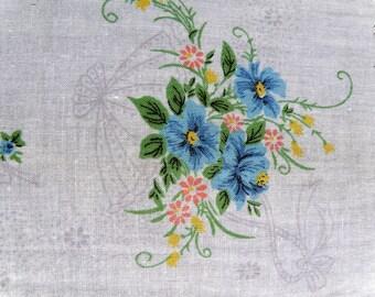 Vintage Handkerchief Jean d'Orly Paris Handkerchief
