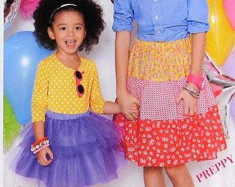 Girls Skirt Sewing Pattern UNCUT Simplicity 1816 Sizes 7-14
