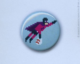 """Crime Fighting and Errands 1"""" Pin-Back Button"""