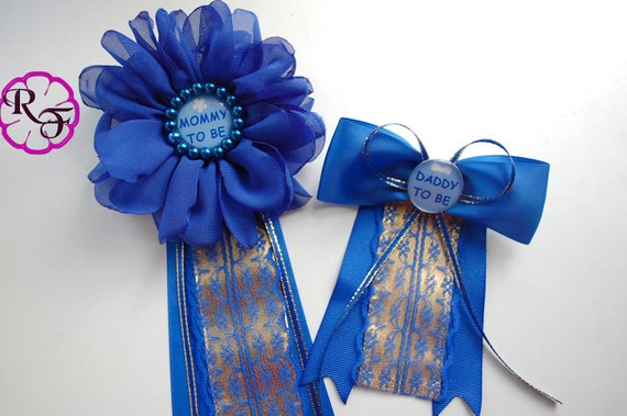 Captivating Royal Baby Shower Baby Shower Corsage Mommy To Be Corsage