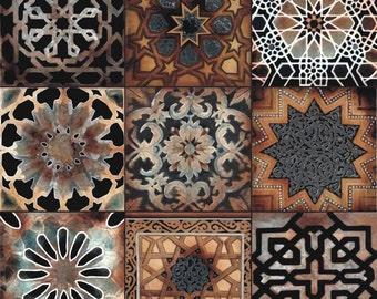 """Old World Artistic Tile Ceramic Kitchen Bath Accent Back Splash 6"""""""