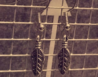 Small, Light Weight, Leaf Earrings