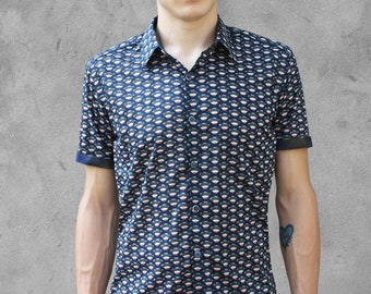 Mens polka-dot shirt - Pop - BAÏSAP oAxRVMmQ4