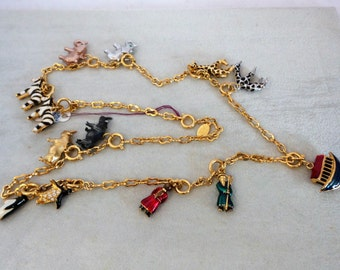 Joan Rivers Noah Ark Charm Necklace