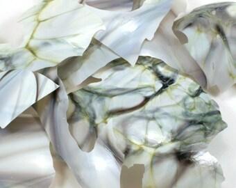 Italian Marble Lampwork Shards 104coe - .5oz