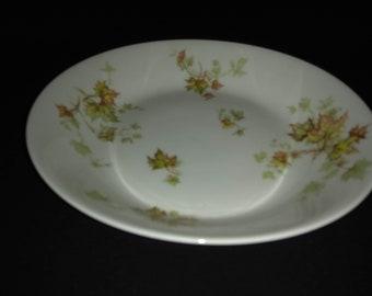 "Haviland Autumn Leaf China 7.5"" Coupe Soup Bowl"