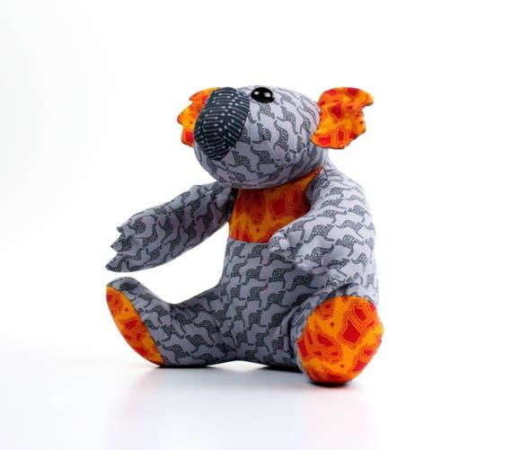 Kiki Koala gefüllt Spielzeug Muster kein PDF von Funky