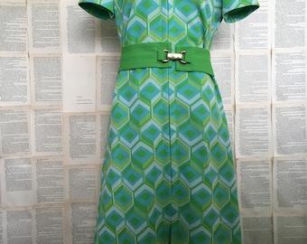 Vinatge Belfry Print Dress