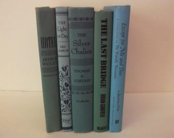 Shabby Vintage Decorative Books Decoration - Chic and Shabby Vintage Book Decoration - 5 books Decorative Books