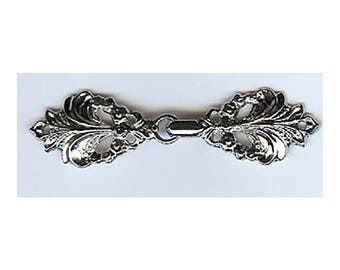 BC24 or BC25 - Metal Closure - Graceful Fleur de Lis clasp in Gold and Nickel