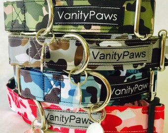 Camoflage Collars + Matching Leads + Harness