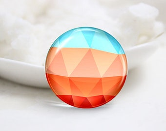 10mm 12mm 14mm 16mm 18mm 20mm 25mm 30mm Handmade Round Photo Glass Cabochon (P1733)