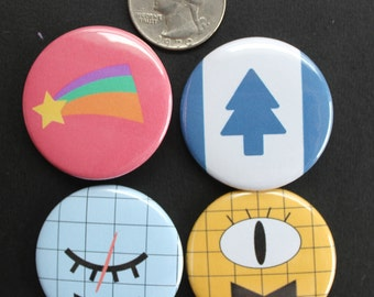 Gravity Falls Buttons