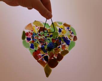 Glass Heart (Medium)