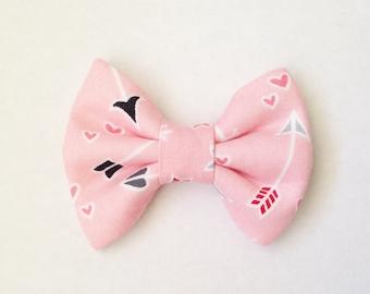The Cupid's Arrows Handmade Bow (Handmade Bow / Bow Tie / or Headband)