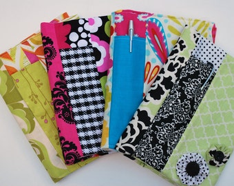 pdf Spiral Fabric Notebook Cover sewing pattern **2 Sizes!!** INSTANT DOWNLOAD!!!
