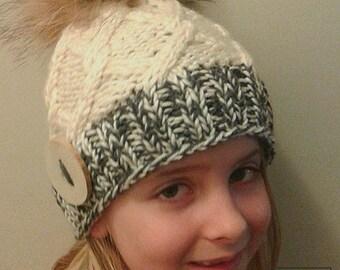 Kyra's kit pattern, knitting pattern, hat pattern