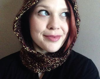 Woodland Nymph Hooded Cowl