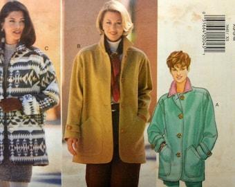 Uncut 1990s Butterick Vintage Sewing Pattern 3640, Size XS-S-M; Misses' Jacket