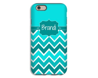 Personalized chevron iPhone 8/8 Plus case, iPhone X case, iPhone 7/7 Plus case, iPhone 6s Plus case/6s case, iPhone 6 case/6 plus case