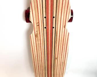 Handcrafted custom infused Longboard Skateboard