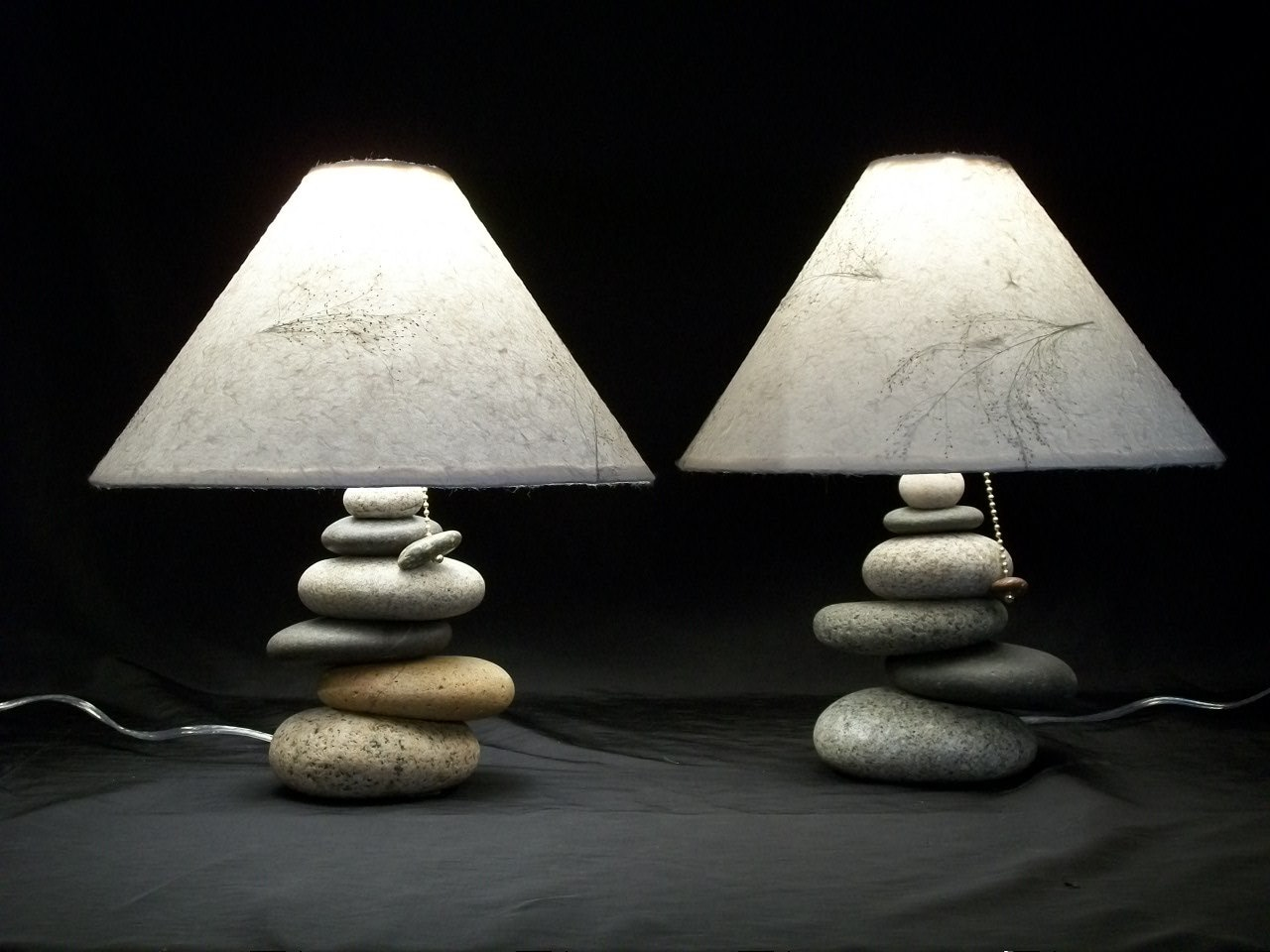 bedside lamps t of balance rock lamps