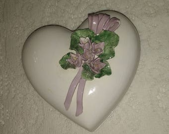 Heart Shape Covered Dish