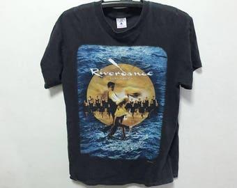 Vintage Riverdance The Show Shirt Size M Free Shipping 1996 Riverdance the show by Bill Whelan Irish folk music