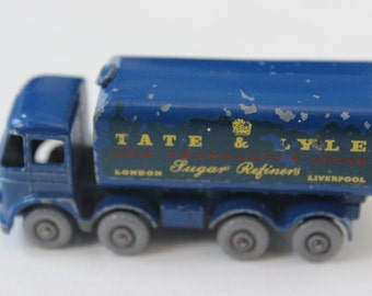 Vintage Tate and Lyle by Lesney Delivery Truck Metal Bulk Granulated Sugar London Liverpool Sugar Refiners