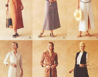 Womens Classic Shirt Dress with Sleeve Variations McCalls Sewing Pattern 3254 Size 14 16 18 Bust 36 38 40 UnCut Palmer Pletsch Classic Fit