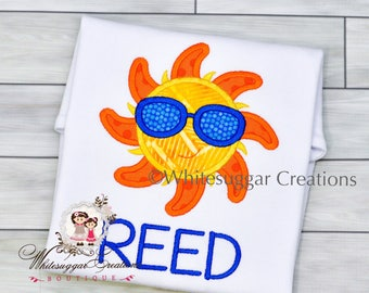 Baby Boy Clothes - Boy Toddler Sun Shirt - Personalized Boy Outfit - Toddler Summer Shirt - Newborn Summer Clothes