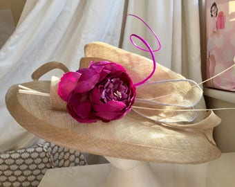 Wedding guest special occasion hat , ladies day at the races hat, formal occasions, ladies at lunch :-)