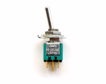 TINY DPDT toggle switch - ultra small