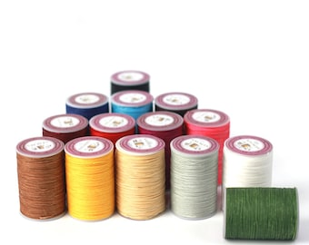 0.5mm Waxed Polyester Sewing Threads Leathercraft Cable Spoon Stitching Leather DIY Handmade Craft Tool