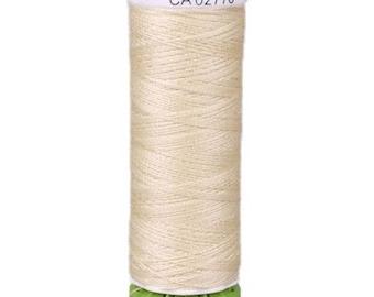 Eggshell Gutermann Recycled Polyester Thread (GT802)