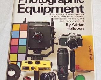 Copyright 1981 The Handbook of Photographic Equipment by Adrian Holloway,paper ephemera