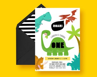 Dinosaur Invitation, dinosaur birthday, dinosaur birthday invitation, Dinosaur Party,boys dinosaur invitation, DINOSAUR