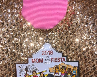 Mom in Love with Fiesta Medal