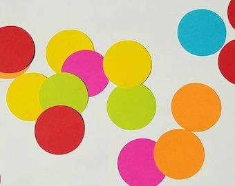 Cardstock Circles, Die Cut Circles, Cardstock Circle Cutouts, Circle Cutouts, 2 inch Cardstock Circles, Scrapbook Circles, Diecut Circles