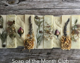 Soap of the Month Club/soap subscription